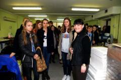 Абітурієнти у Видавничо-друкарському комплексі Університету Україна