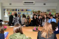 На кафедрі журналістики Університету Україна