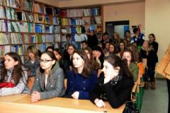 У бібліотеці Університету Україна (2)