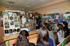 У бібліотеці Університету Україна