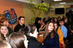 У студентській кав'ярні Університету Україна