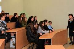 У великій лекційній аудиторії