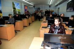В аудиторії Центру інформаційного доступу Університету Україна